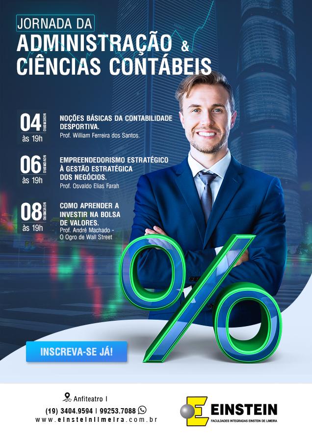 Jornada da Administração e Ciências Contábeis