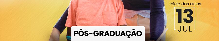 Pós graduação - Início das aulas: 13 Julho